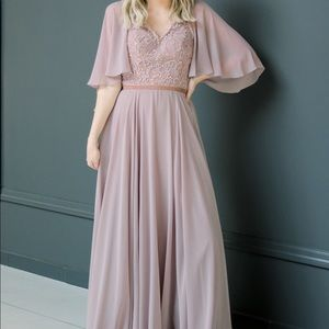 Mauve Mother of the Bride / Special Occasion Dress